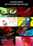 ANIMATION_HAPPY TREE FRIENDS by FleshCreature