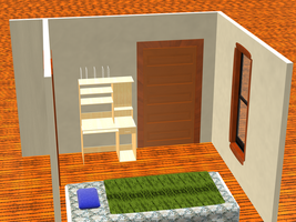 3D model of my room - Day 2 by Crustech
