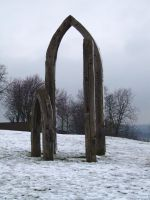 Wooden arches 1 by Paulus1962