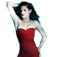 KristenStewart Png by AdyCullenBlack