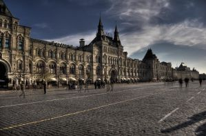 Shopping Trip to Moscow by Tschisi