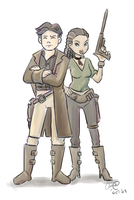 Firefly: Mal and Zoe by aimee5