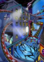 Sonic Adventure Speedhighway by Joelchan