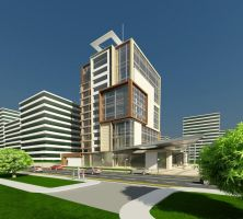 Office Building I by yusuf-Abdelbaky