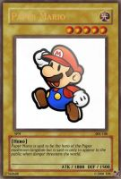 Paper Mario card by The-not-Mario-guy