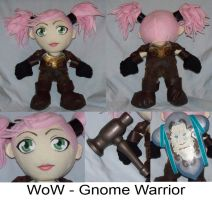 Commission: Gnome Warrior -WoW by Necronomical