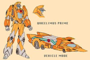 Wheelimus Prime by cwmodels