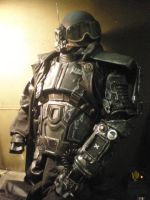 TX ranger power armor Fallout houston 1 by drnightshade