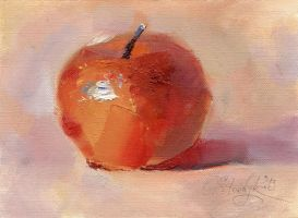 Red apple by OlgaSternik