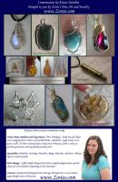Zoria's Custom Order Profile 2012 Commissions by Zorias