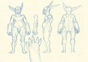 model sheet by Pampelmouss