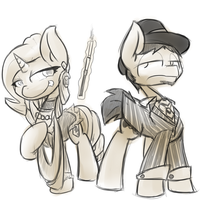 Gangster Ponies by MartinHello