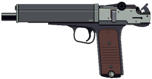 10mm Machine Pistol by Ruiner3000