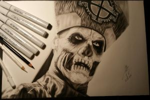 Papa Emeritus by MarvelousBuzz