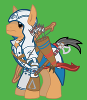Connor Kenway Pony by yoshimaster206