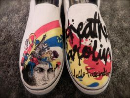 Breathe Carolina slip-ons by CrimsonVip3r