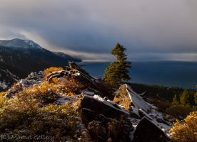 Stormy Tahoe sunrise by MartinGollery