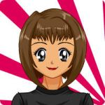 Reina after getting her haircut by sailorcancer01