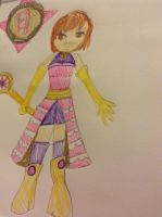 TMS Leila's Solar Stone form outfit design by TiaKay