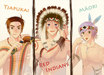 APH: The native tribes by Junez-chan