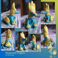 Manectric figure by Fenrienne
