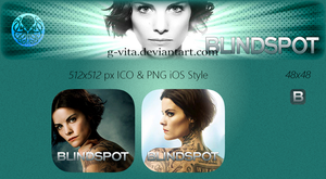 Blindspot TV Icon by g-Vita