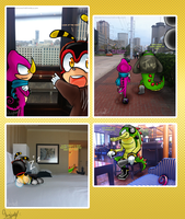 .:Chaotix Goes to New Orleans:. by stingybee