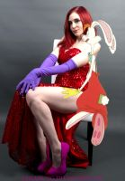 Jessica and Roger Rabbit by laylassong