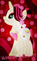 Improved My Fan-Made Pony: Angel Delight by BebeKimichi