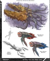 Deep Creature Concepts by Hyptosis