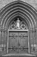 Church door by KB-Fotografie