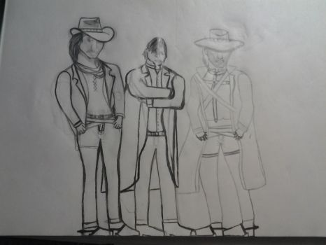Call of Juarez: McCall brothers All by warriorjane12