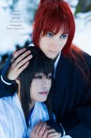 Battousai - Tomoe - I'lll protect you by RomaiLee