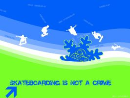 skateboarding is not a crime by vad3x