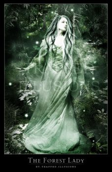 The Forest Lady by trappedillusions
