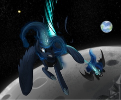Lost on the Moon by InspectorValvert