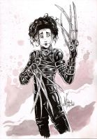 EDWARD SCISSORHANDS by Vinz-el-Tabanas