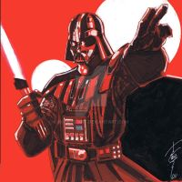 12x12 Darth Vader SLC by Hodges-Art