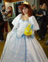 Ariel Wedding Dress Cosplay by ArielVanDeKamp