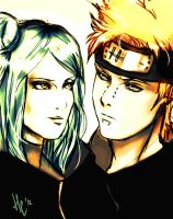 Naruto. Pain/Konan by NellSa