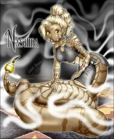 Nashira the Naga: Brown by Nilessa