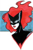 Batwoman 2 Headshot by RichBernatovech