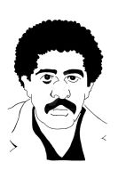 Richard Pryor 001 Colored In by Blaze-Belushi