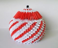 3D Origami Sugar-bowl 2 by designermetin