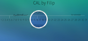 CAL for Rainmeter - Version 1.1 by filipbaotic