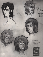 [Thundergamma] Roxxanne Pyrstone Face study by Nuclearpsychotic