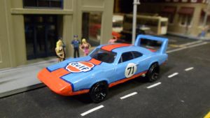 Gulf Racing Daytona #71 by hankypanky68