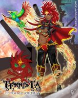 TERRISTA-The Inimitable Scarlet Fist by Galindorf