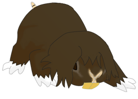 guinea pig fakemon by RaynieCloud