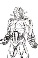 an Ultron drawing..... by thelearningcurv